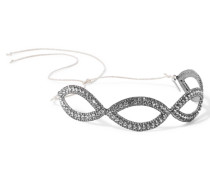 Haarband Mit Rotgussauflage Und Swarovski-kristallen -
