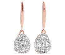 Nura Ohrringe Aus -vermeil Mit Diamanten