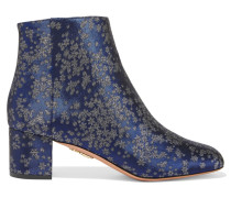Brooklyn Ankle Boots Aus Jacquard -