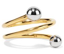 Body Spiral Vergoldeter Ring
