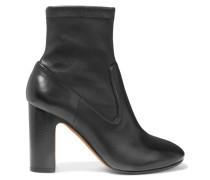 Calist Ankle Boots Aus Stretch-leder - Schwarz