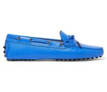 Gommino Loafers Aus Strukturiertem Leder -