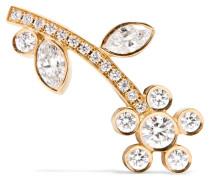 Croissant Amelia Ohrring Aus 18 Karat  Mit Diamanten