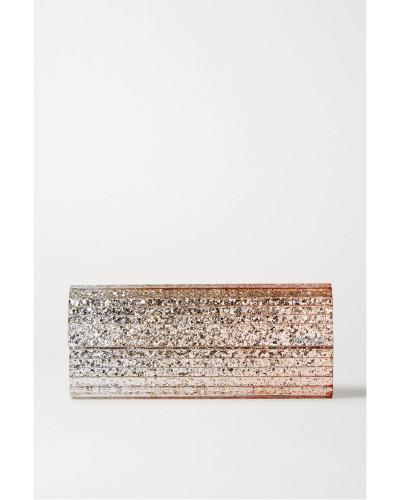 Sweetie Clutch aus Acryl mit Glitter-finish