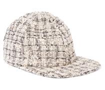 Darien Baseballcap Aus Metallic-tweed -