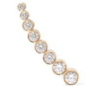 Croissant De Lune Ear Cuff Aus 18 Karat  Mit Diamanten