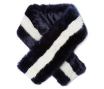 Mariner Schal Aus Faux Fur - Mitternachtsblau