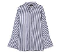 Gestreiftes Hemd aus Biobaumwolle