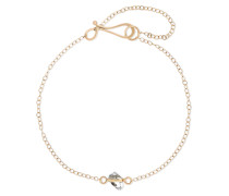 Armband aus 14 Karat  mit Herkimer-diamant