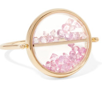 Chivor Ring Aus 18 Karat Gold Mit Saphiren