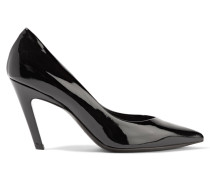 Slash Pumps Aus Lackleder -