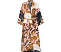 Nat Kimono aus Bedrucktem Crêpe De Chine aus Seide -