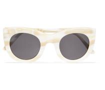 Boca Sonnenbrille Mit Cat-eye-rahmen Aus Marmoriertem Azetat -