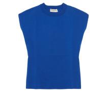 Pullover Aus Einer Baumwollmischung - Blau
