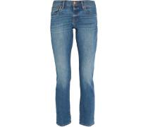 Boyjean halbhohe Jeans mit schmalem Bein