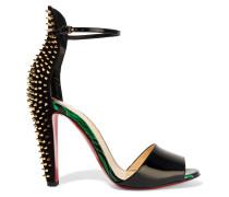Tropanita 100 Sandalen aus Lackleder mit Nieten