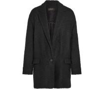 Ilaria Oversized-jacke Aus Bouclé-tweed Aus Einer Wollmischung - Schwarz