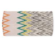 Haarband Aus Strick In Häkeloptik - Blau