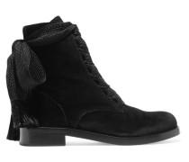 Harper Ankle Boots Aus Samt -
