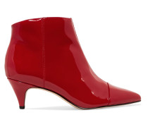 Kinzey Ankle Boots Aus Lackleder -
