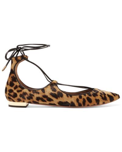 Aquazzura Damen Christy Flache Schuhe