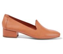 Venetian Loafers Aus Leder - Camel