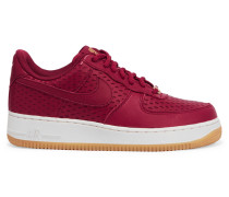 Air Force 1 Sneakers Aus Perforiertem Leder - Rot