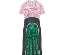 Vitriol Bedrucktes Kleid Aus Crêpe - Grün