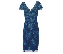 Besticktes Kleid Aus Tüll Mit Paillettenverzierung -