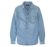 Always Hemd Aus Baumwoll-chambray - Heller Denim