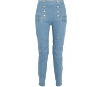 Hochsitzende Skinny Jeans -
