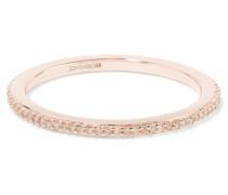 Skinny Ring Aus Roségold-vermeil Mit Diamanten