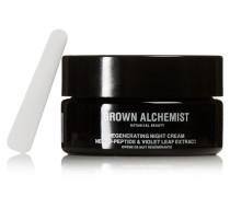 Regenerating Night Cream: Neuro-peptide & Violet Leaf Extract, 40 Ml – Nachtcreme
