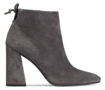 Grandiose Ankle Boots Aus Veloursleder -