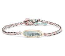 Icicle Armband Aus 18 Karat  Und Sterlingsilber Mit Aquamarin