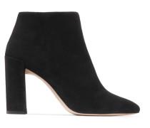 Pure Ankle Boots Aus Veloursleder -