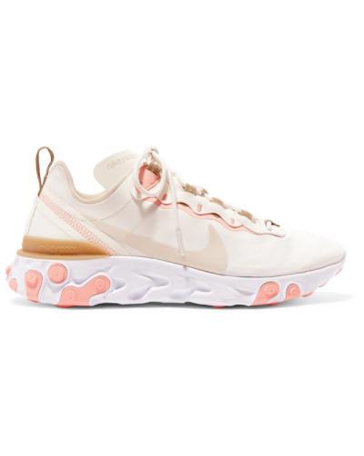 React Element 55 Sneakers aus Neopren, Kunstleder und Mesh