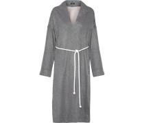 Mantel Aus Einer Doppellagigen Wollmischung -