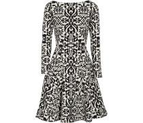 Jacquard-Kleid aus einer Baumwollmischung mit Stretch-Anteil