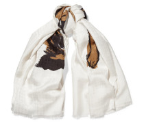 Bedruckter Schal aus Seiden-Twill