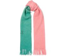 Kelowna Zweifarbiger Schal Aus Filz Mit Stickerei -