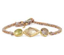 Triple Orbit Armband Aus 18 Karat  Mit Saphiren Und Diamanten