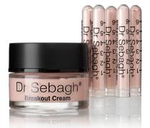 Breakout Cream & Antibacterial Powder, - 5 X 1.95g + 50ml – Creme und Antibakterieller Puder