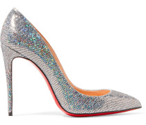 Pigalle Follies 100 Lederpumps mit Glitter-Finish