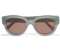 Atkins Sonnenbrille mit rundem Rahmen aus Azetat