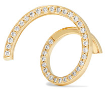 Athene D'or Ohrring Aus 18 Karat  Mit Diamanten