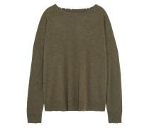 The Destroyed Pullover Aus Einer Woll-kaschmirmischung -