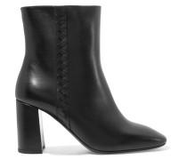 Ankle Boots aus Intrecciato-leder -