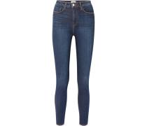 Katrina Hoch Sitzende Skinny Jeans -