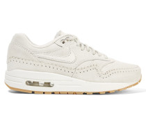 Air Max 1 Sherpa Sneakers Aus Veloursleder Und Shearling -